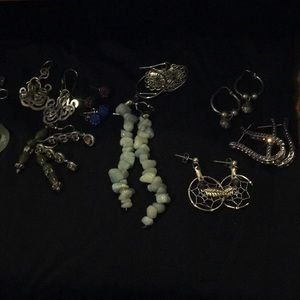 Lot of earrings 14 pairs for 1 price
